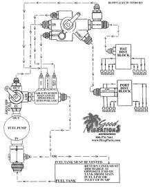 blown alcohol - nitro barrel valve