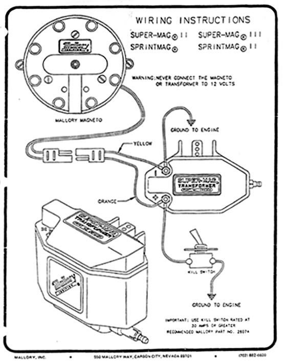 Vertex Magneto Wiring Diagram Plug - Wiring Diagram